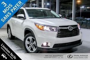 2016 Toyota Highlander *Nouvel Arrivage*  LIMITED 7 PASSAGERS