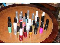 Nail Art Paints ( Stripeing Brushes ) Nail Varnish 28 Bottles