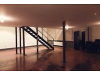 East Hall / Large Creative Space / Workspace / East London / E8/ Hackney Downs Studios
