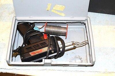 Weller 8200 Dual Heat 100140 Watt Soldering Gun In Dremel Kit Case Tested  21
