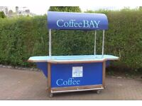 Self contained mobile Coffee/retail/concession stand/counter.