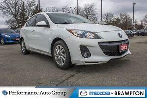 2013 Mazda MAZDA3 GS- L SKY|HEATED SEATS|SUNROOF|ALLOYS|LEATHER