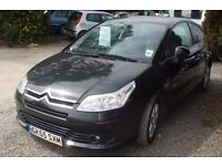 Citroen c4i vtr coupe 2005-55-plate, 1400cc petrol, only 114,000 miles, new MOT upon purchase,