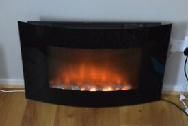 2 kWh Electric Fire with Flame Effect 1000w / 2000w