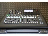 Behringer X32 Compact Digital Mixing Desk With Road Ready Flightcase