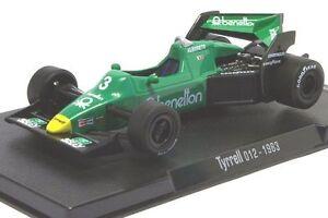 F1 - 1983 - TYRRELL FORD 012 - # 3 - M. Alboreto 1:43 - Fara Gera d'Adda, Italia - F1 - 1983 - TYRRELL FORD 012 - # 3 - M. Alboreto 1:43 - Fara Gera d'Adda, Italia