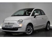 FIAT 500 1.2 LOUNGE 3d 69 BHP (white) 2014