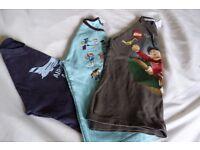 Boy's T Shirt Bundle. Mini Boden Lego (Next) Tyrell Katz. Age 7/8.