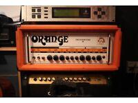 orange Thunderverb 50 watt head amplifier amp