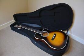 Hagstrom Siljan 11 Grand Auditorium CE Electro Acoustic Guitar