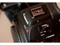 Canon C100 mk1, Canon 17-55mm f2.8
