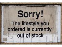Banksy Poster Sorry! The Lifestyle You Ordered is Currently Out of Stock A2 Size Street Art Prints