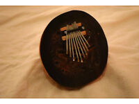 Handcarved Varnished Karimba Finger Piano - instrument from Bali made from coconut shell - £20