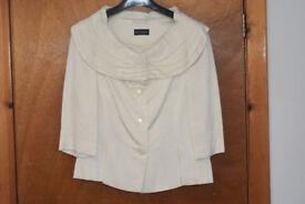 Principals Ivory Jacket, size 10