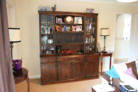 large lounge/dinner display unit