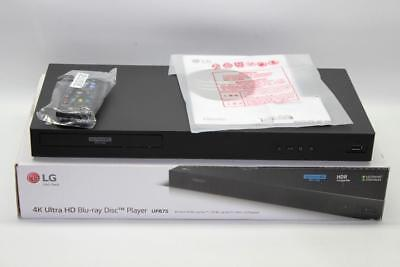 LG UP875 4K Blu-Ray Disc Player w/ HDR-3D Blu-Ray/ DVD Player BARELY USED IN BOX