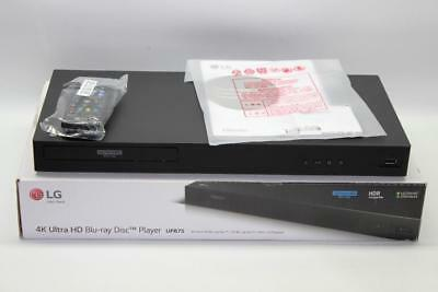LG UP875 4K Blu-Ray Disc Player w/ HDR Compatibility - 3D Blu-Ray/ DVD Player