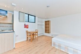 Chalk Farm Road NW1: studio flat / available 9th August / furnished / wooden floors / great location