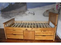 Lovely wooden bed in excellent condition