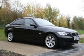 2005 BMW 3 Series 2.0 320i SE 4dr LOW MILEAGE, 3M WARRANTY, AUTOMATIC, PX WELCOME, IMMACULATE