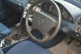 1996 Mecedes C220 Classic, Diesel saloon manual. small PROJECT .(All parts inc. for MOT).