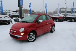 2012 Fiat 500C LOUNGE *CUIR/CONVERTIBLE*