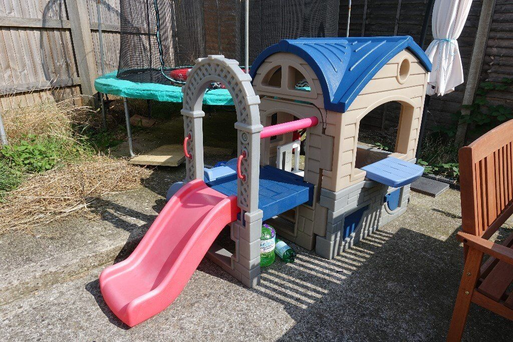Little Tikes Playhouse With Slide