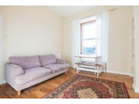 Stylish 1 bed with box room, FURNISHED top floor flat with high ceilings available in May 2021!