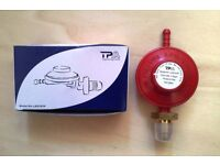 Propane Gas Regulator. Conventional 37mbar rated - Brand New