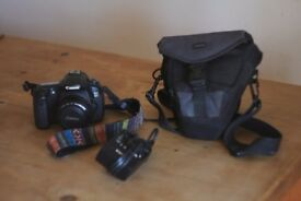 Canon 60D with 50mm F1.8lens