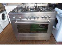 delonghi 6 burner gas cooker 90 cm