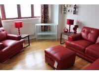 Very Spacious 3 Bedroom Fully Furnished Top Floor Flat in Cockenzie
