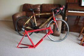 bamboo frame bike plus new road bike