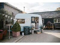 2-Berth restored vintage caravan.