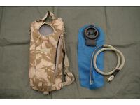 British Army Issue DP Desert Camoflague 2L Camelbak Hydration System