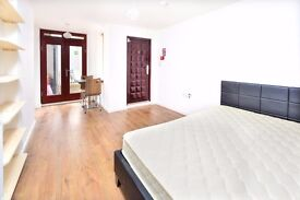 DAWES ROAD, SW6: MODERN AND SPACIOUS STUDIO APARTMENT, PRIVATE TOILET, BUILT IN WARDROBES, FURNISHED
