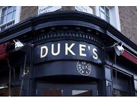 Chef de Partie/Grill chef required - Duke's Brew & Que