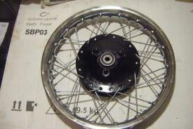 Ariel Leader / Arrow Rebuilt Rear Wheel,