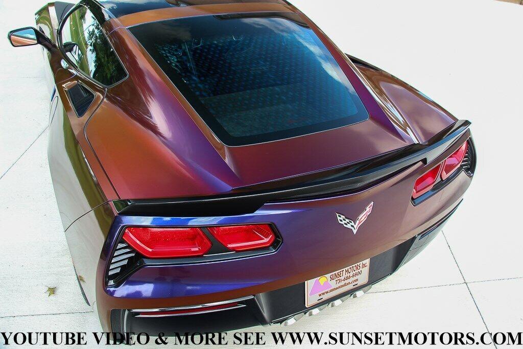 2017 Silver Chevrolet Corvette Stingray Z51   C7 Corvette Photo 7