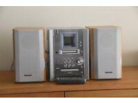 Panasonic mini hi-fi. CD player