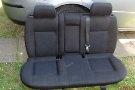 ford mondeo mk3 set of black cloth seats
