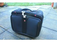 Swiss Army Business Rollalong, 5 compartments, used twice.