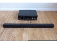 Sharp Sound Bar & Subwoofer Boxed Like New