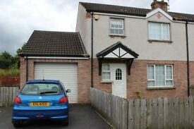 Quiet 3 bedroom semi detached house to rent, Coalisland area, long term only, dss accepted