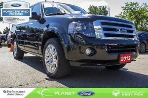 2013 Ford Expedition Limited|4x4|ROOF|NAVI|LEATHER|FORD CERTIFIE