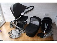 Mamas and Papas Zoom pram travel system 3 in 1 *can post*