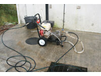 Honda Gx 390 21 litre 3000 psi pressure washer Gearboxed
