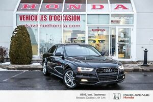 2015 Audi A4 2.0T Technik Plus * Quattro * Cuir * Navigation