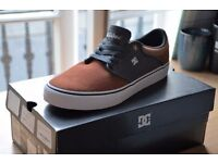 DC Casual Skate Shoes - Mickey Taylor Vulc Brown(Size 7)