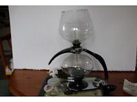 Very elegant Antique Art Deco 'Cona' 2-pint Coffee maker in excellent condition. Conversation piece